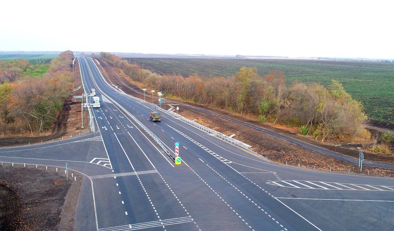 В Белгородской области капитально отремонтировали участок М-2 «Крым»