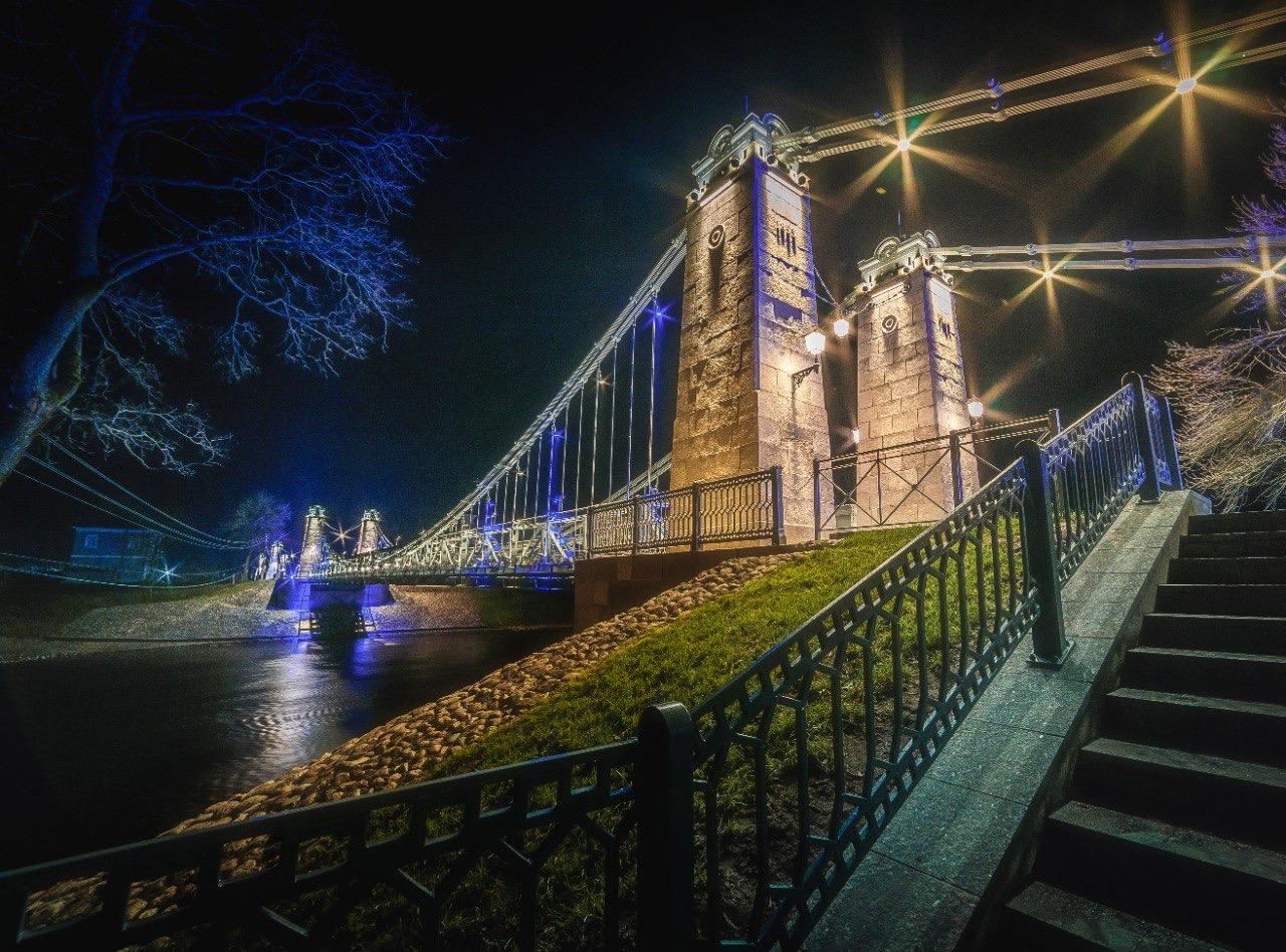 В Псковской области отреставрировали уникальные мосты