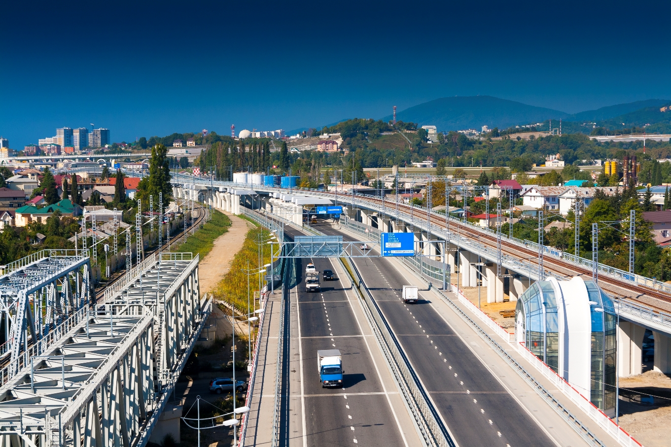 В Краснодарском крае построят новую дорогу по направлению «Джубга-Сочи»