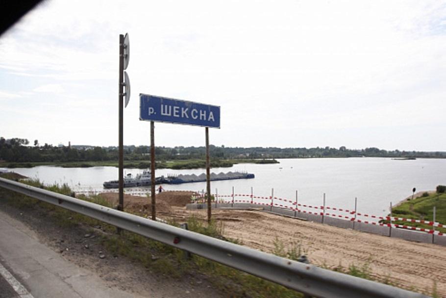 Новый мост через Шексну на трассе А-114 откроют в конце июня