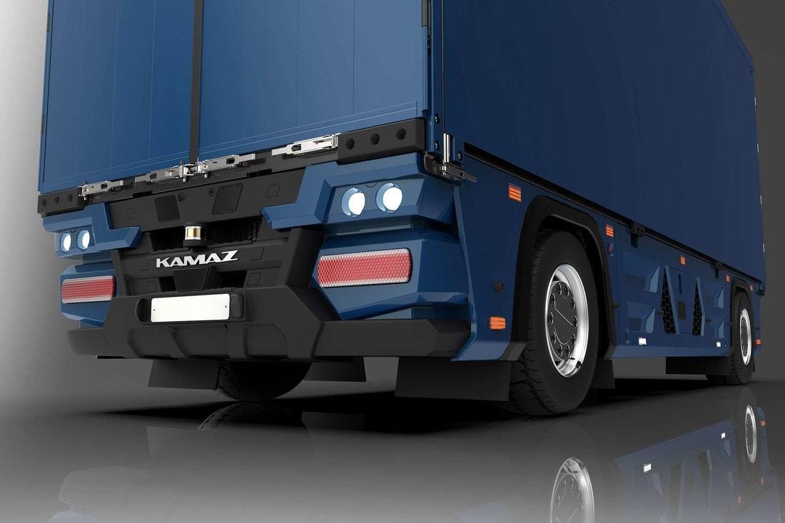«КамАЗ» разработал беспилотный грузовик без кабины для водителя