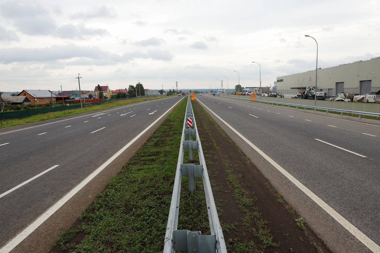В Кузбассе отремонтировали 60 км трассы между югом и севером региона