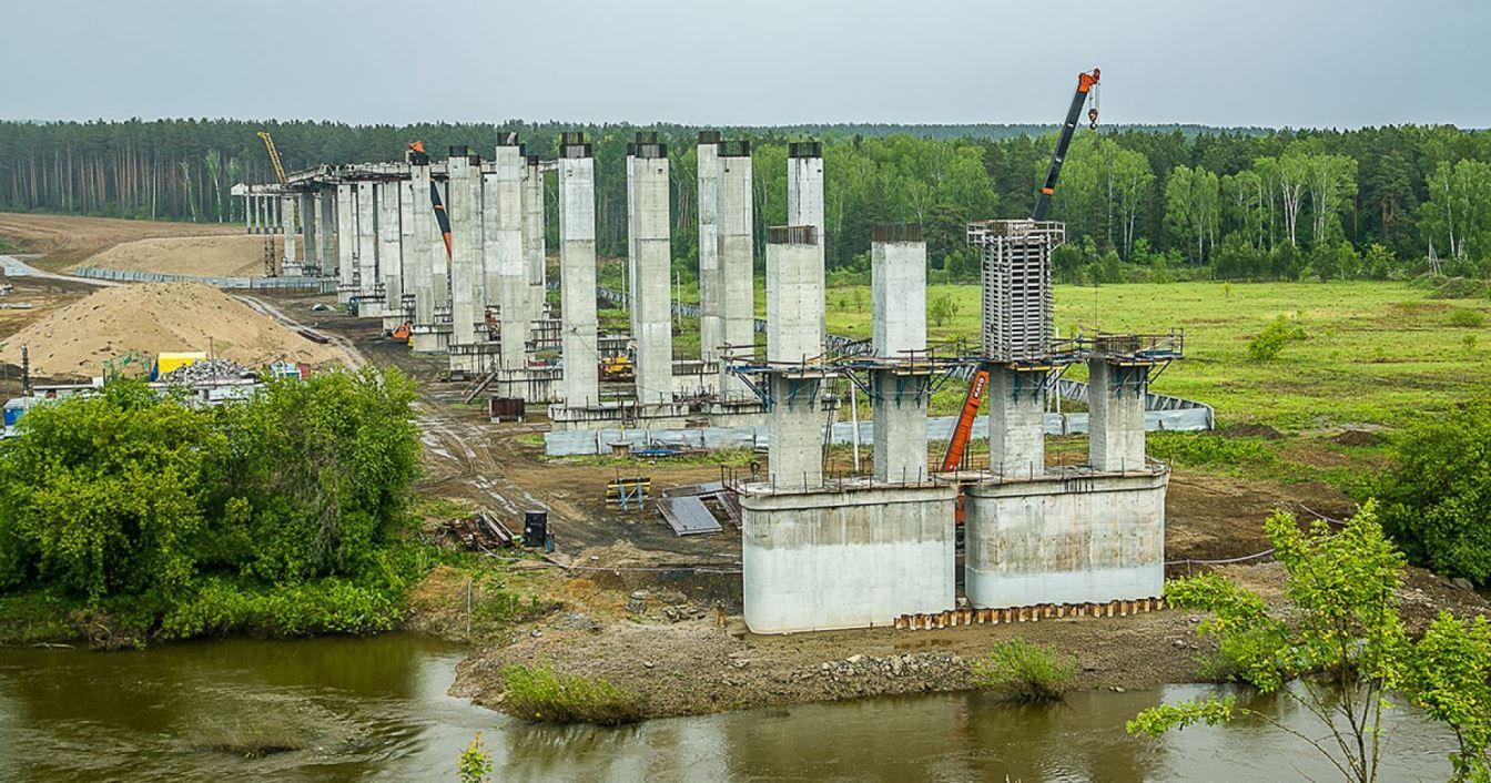 Первую очередь Восточного обхода Новосибирска сдадут в 2021 году