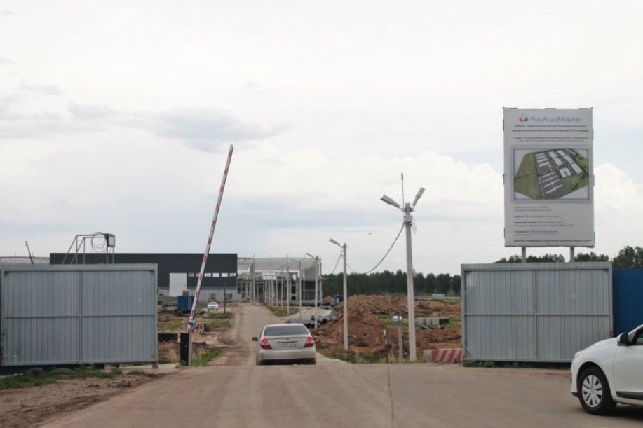 Строительство логистического центра под Новосибирском начнут в конце лета