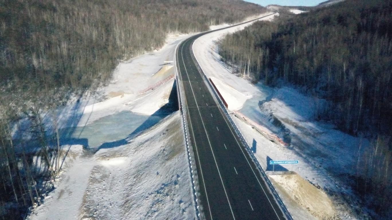 В Амурской области заасфальтировали почти 30 км трассы А-360 «Лена»