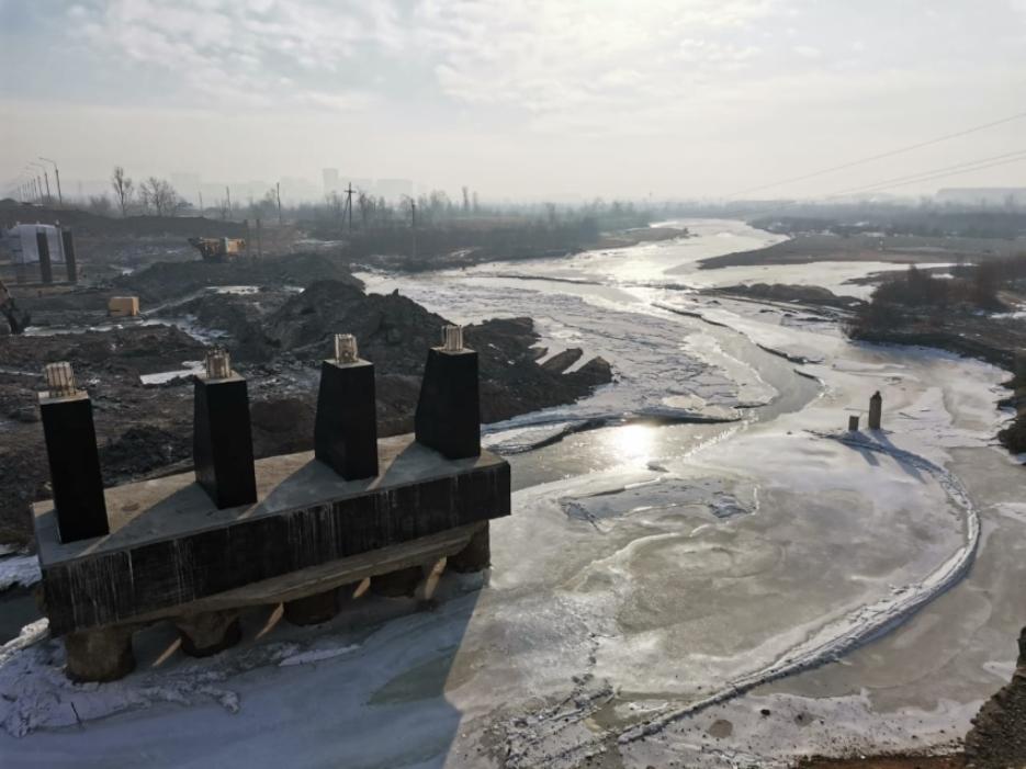 Капитальный ремонт Каштакского моста в Чите завершат к концу 2021 года