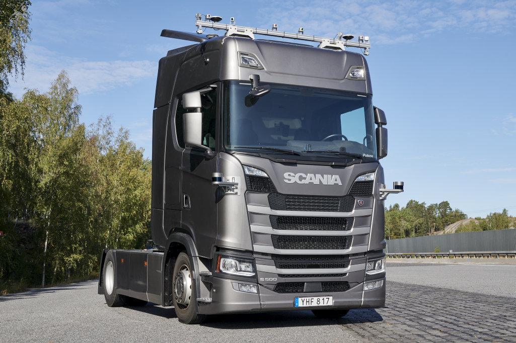 Scania будет тестировать беспилотные грузовики на дороге общего пользования