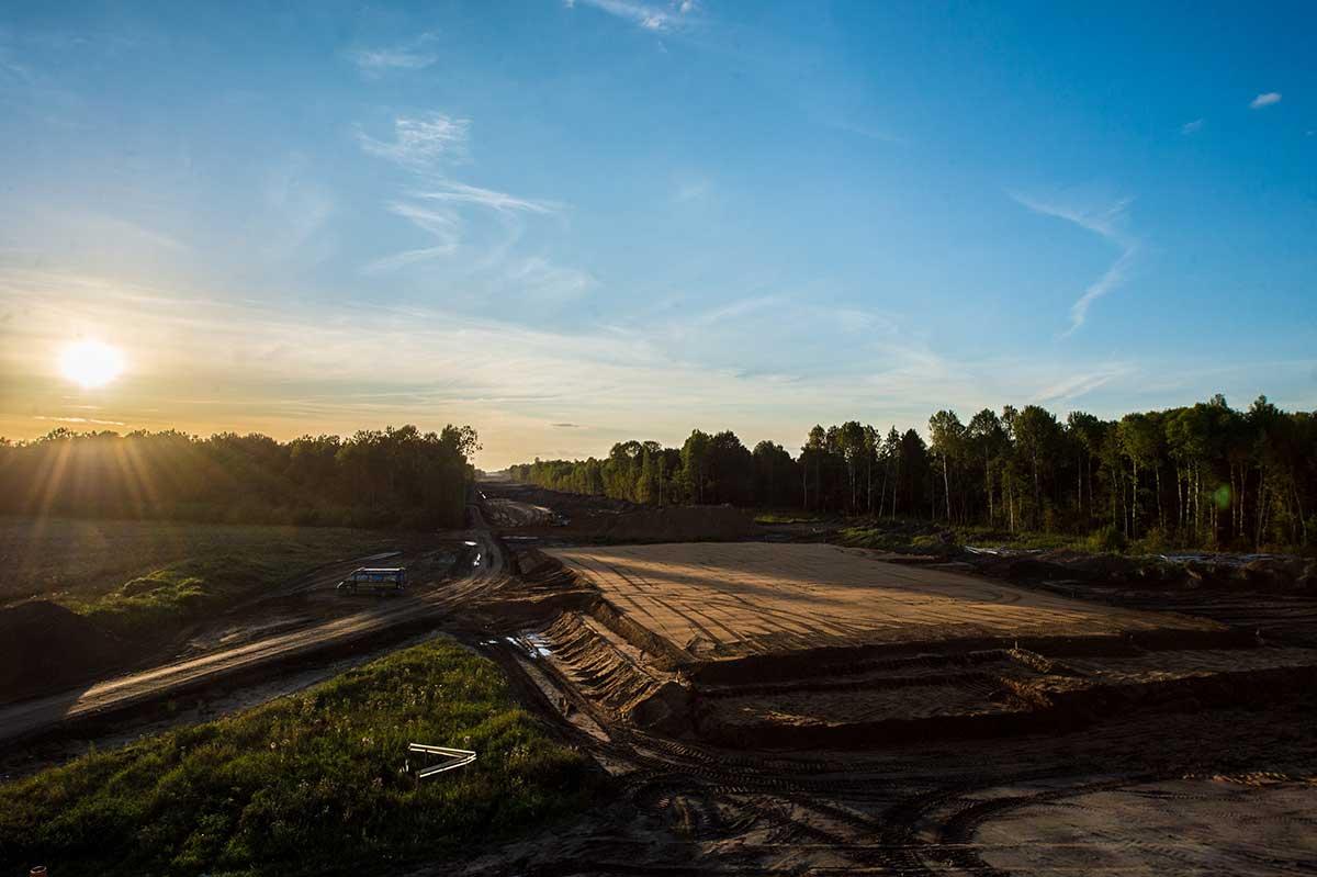 Трассу М-11 «Москва-Санкт-Петербург» достроили