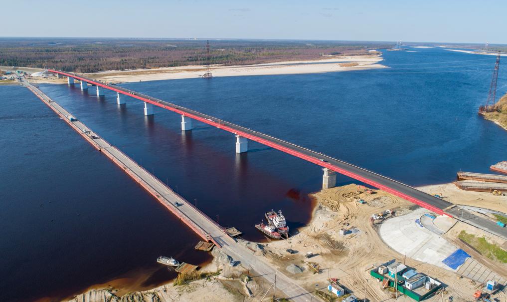 Мост через Пур в ЯНАО откроют 16 октября