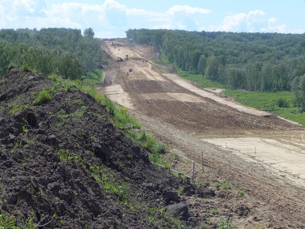 Росавтодор расторг контракт на строительство Восточного обхода Новосибирска