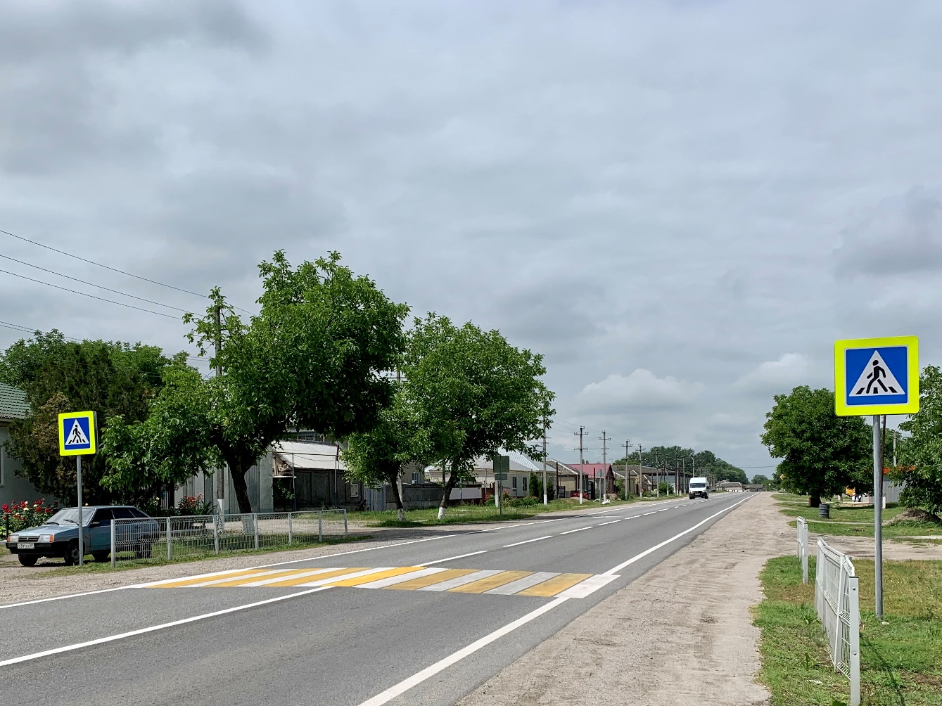 В КБР устроят освещение в трех населенных пунктах на трассе А-158
