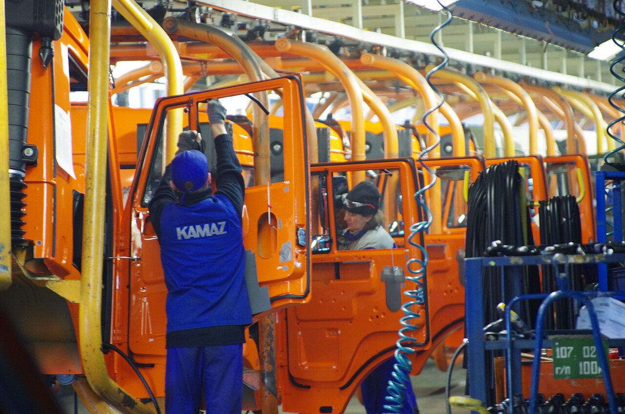 Правительство выделило «КамАЗу» более 1 млрд. рублей