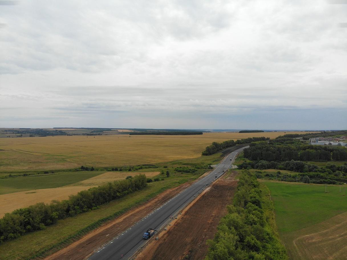 В Чувашии капитально отремонтировали более 32 км трассы А-151