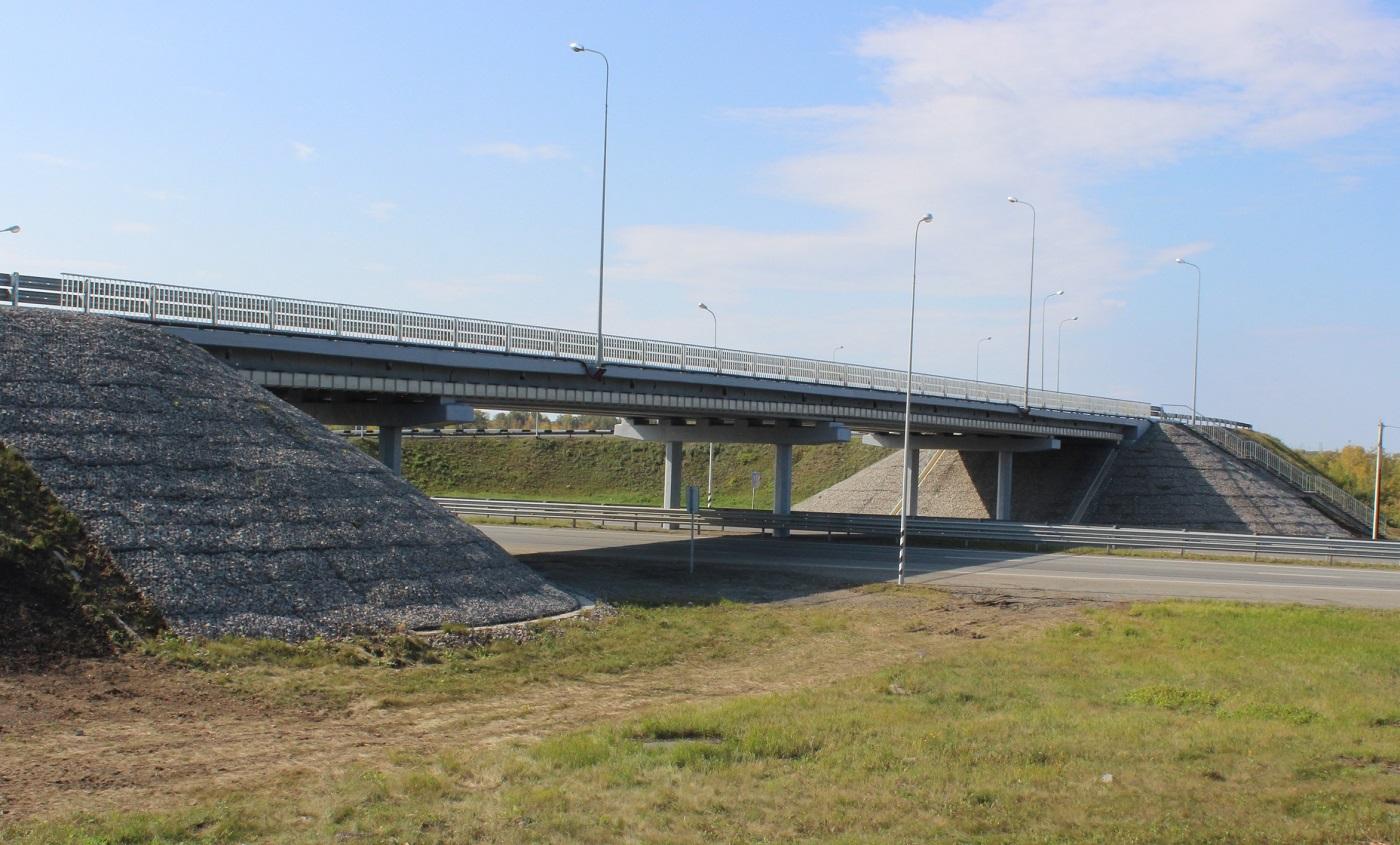 На трассе М-5 «Урал» в Челябинской области отремонтировали два путепровода