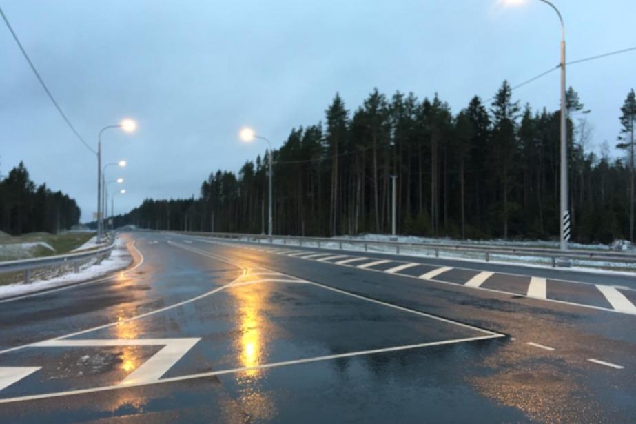 В Ленобласти после реконструкции открыли участок А-121 «Сортавала»