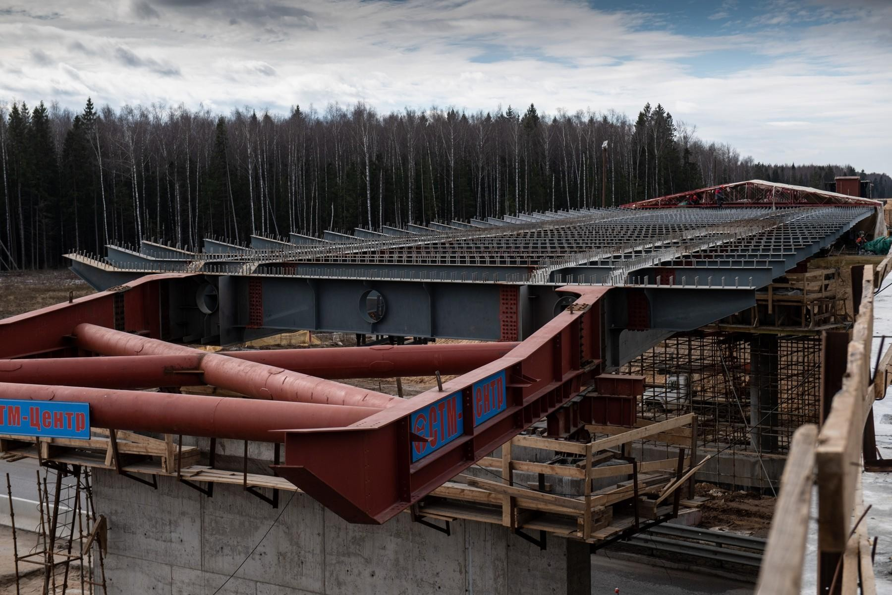 Путепровод, соединяющий ЦКАД-3 и М-11, сдадут в конце 2020 года