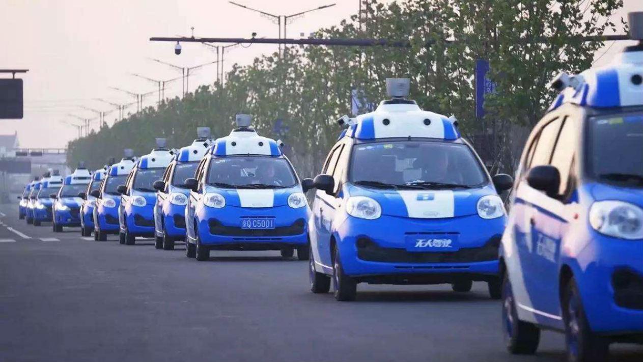 Беспилотные автомобили китайской компании Baidu преодолели 500 тыс. км