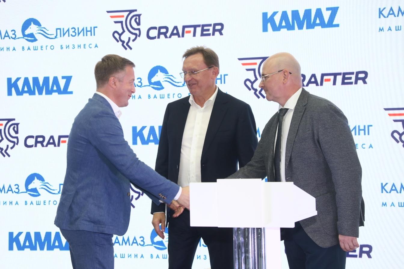 «КамАЗ» поставит ГК «CRAFTER» почти 1,5 тыс. тягачей