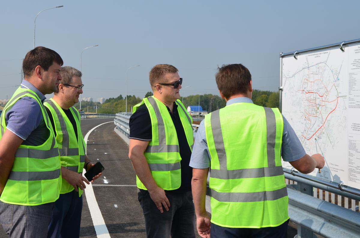 Строительство обходной дороги Саранска завершится в конце октября 2019 года
