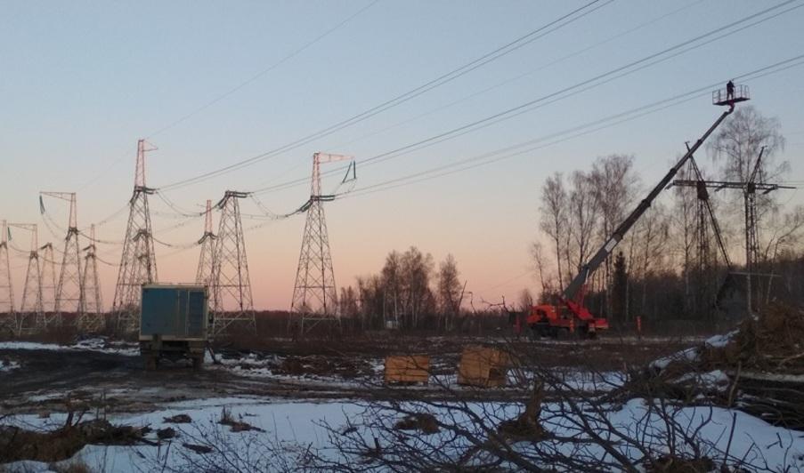 На головном участке М-12 идет подготовка территории под строительство