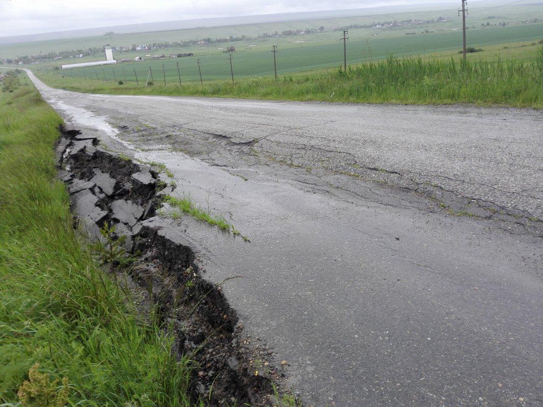 В ставропольском селе отремонтировали одну из самых разрушенных дорог
