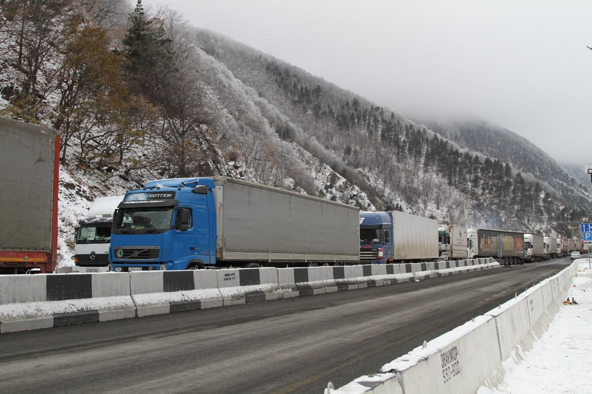 Военно-Грузинскую дорогу открыли для всех видов транспортных средств