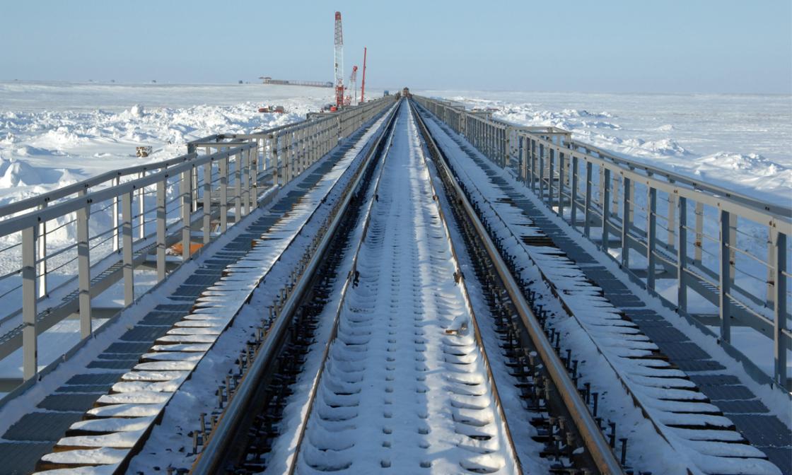 Зимой начнется строительство моста через Обь в ЯНАО