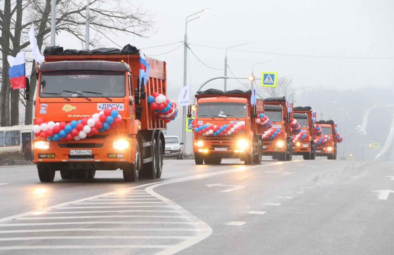 После капитального ремонта открыли участок трассы на подъезде к Курску