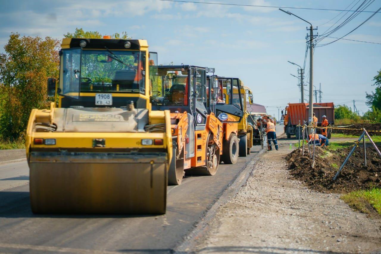 В Кемеровской области за год отремонтировали почти 400 км дорог