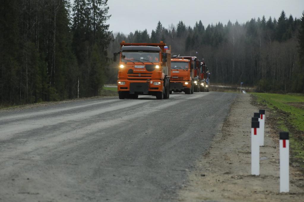 В Вологодской области открыли дорогу до границы с Архангельской областью