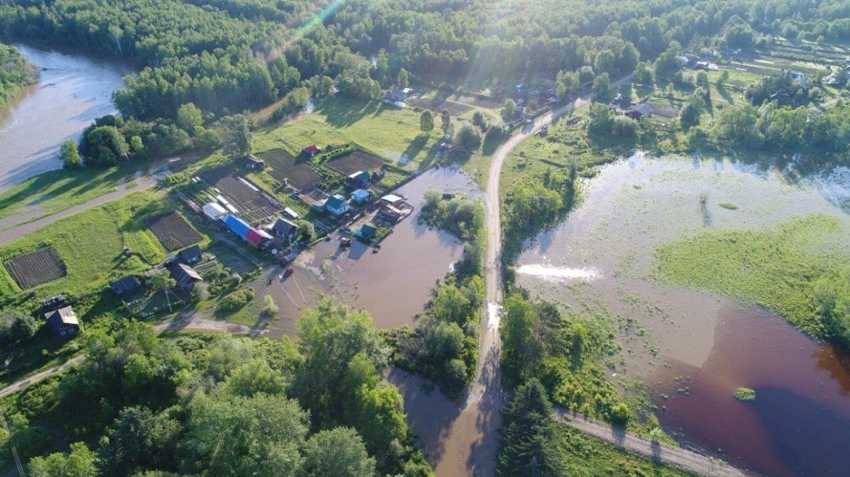 В Амурской области от паводка освободились еще 3 населенных пункта