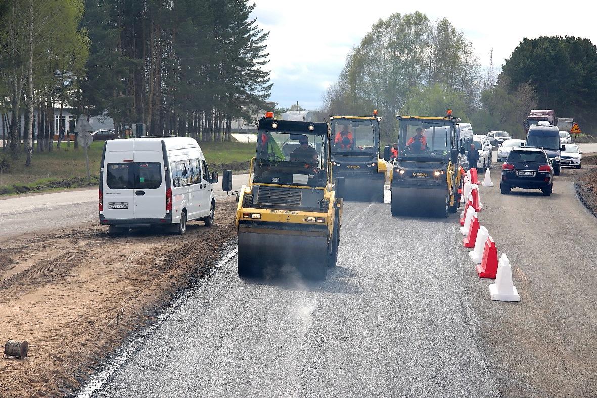 Ремонт трассы «Камаевка-Асино-Первомайское» завершат в 2022 году