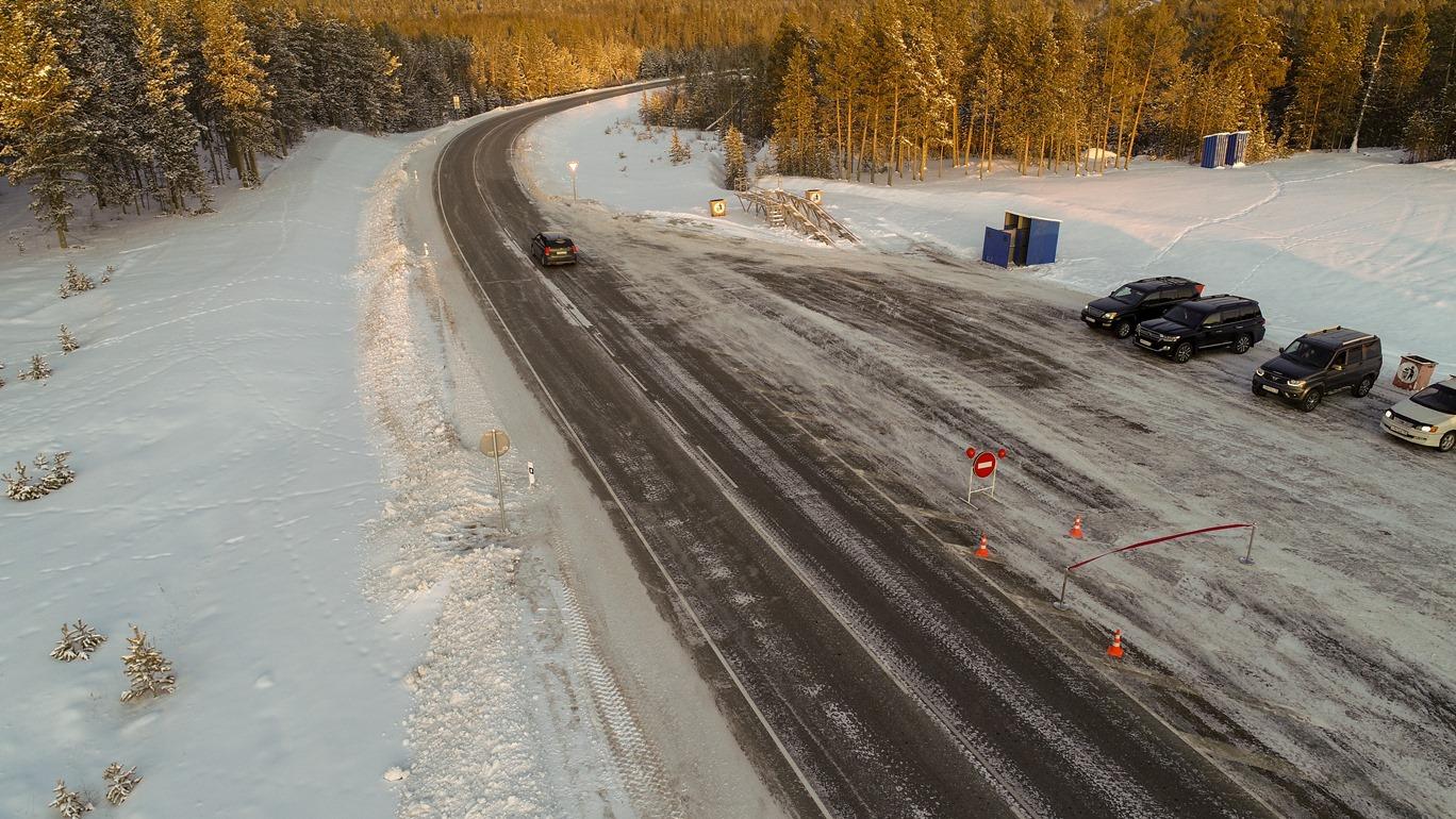 Федеральная трасса Р-504 «Колыма» в Якутии