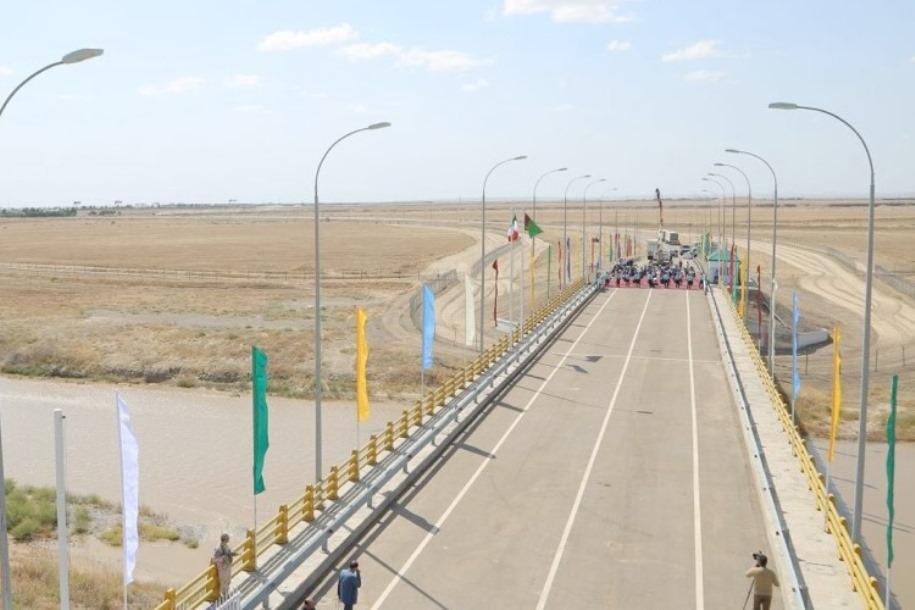 На границе Ирана и Туркменистана открылся новый автомобильный мост