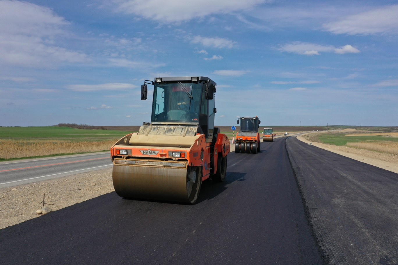 Четыре полосы на участке трассы А-157 в Ставрополье откроют в 2022 году