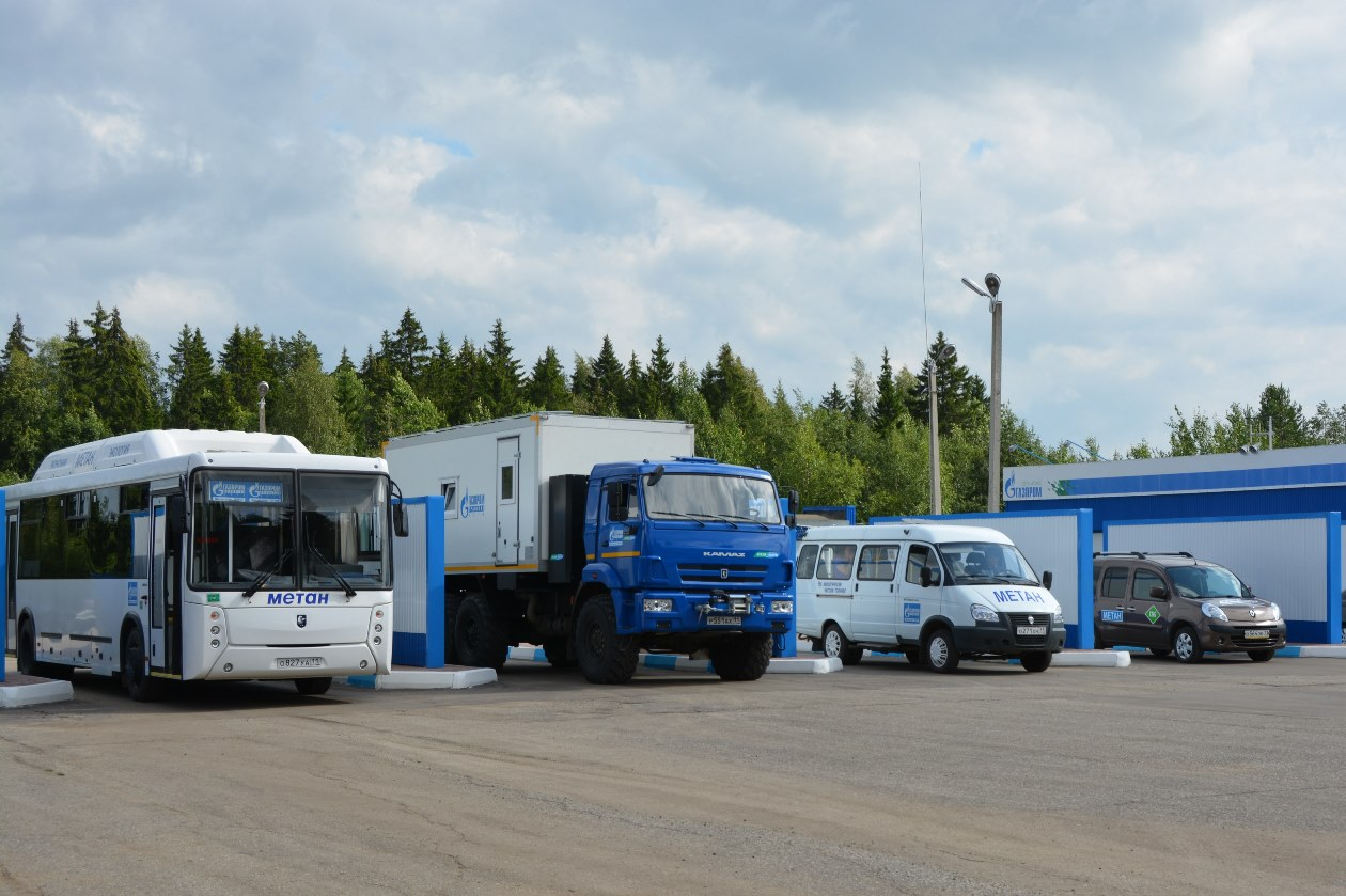В Сыктывкаре в 2021 году построят вторую заправку на метане