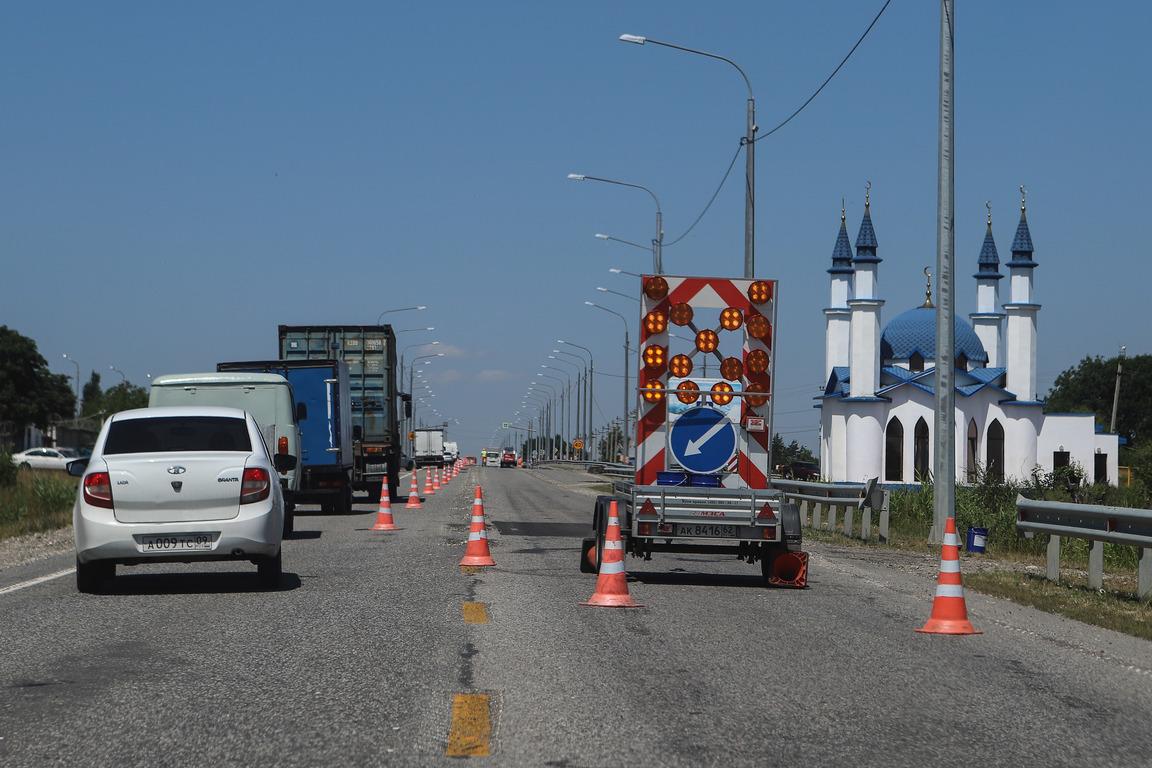 Подъездную дорогу к Черкесску на трассе Р-217 «Кавказ» расширят до четырех полос