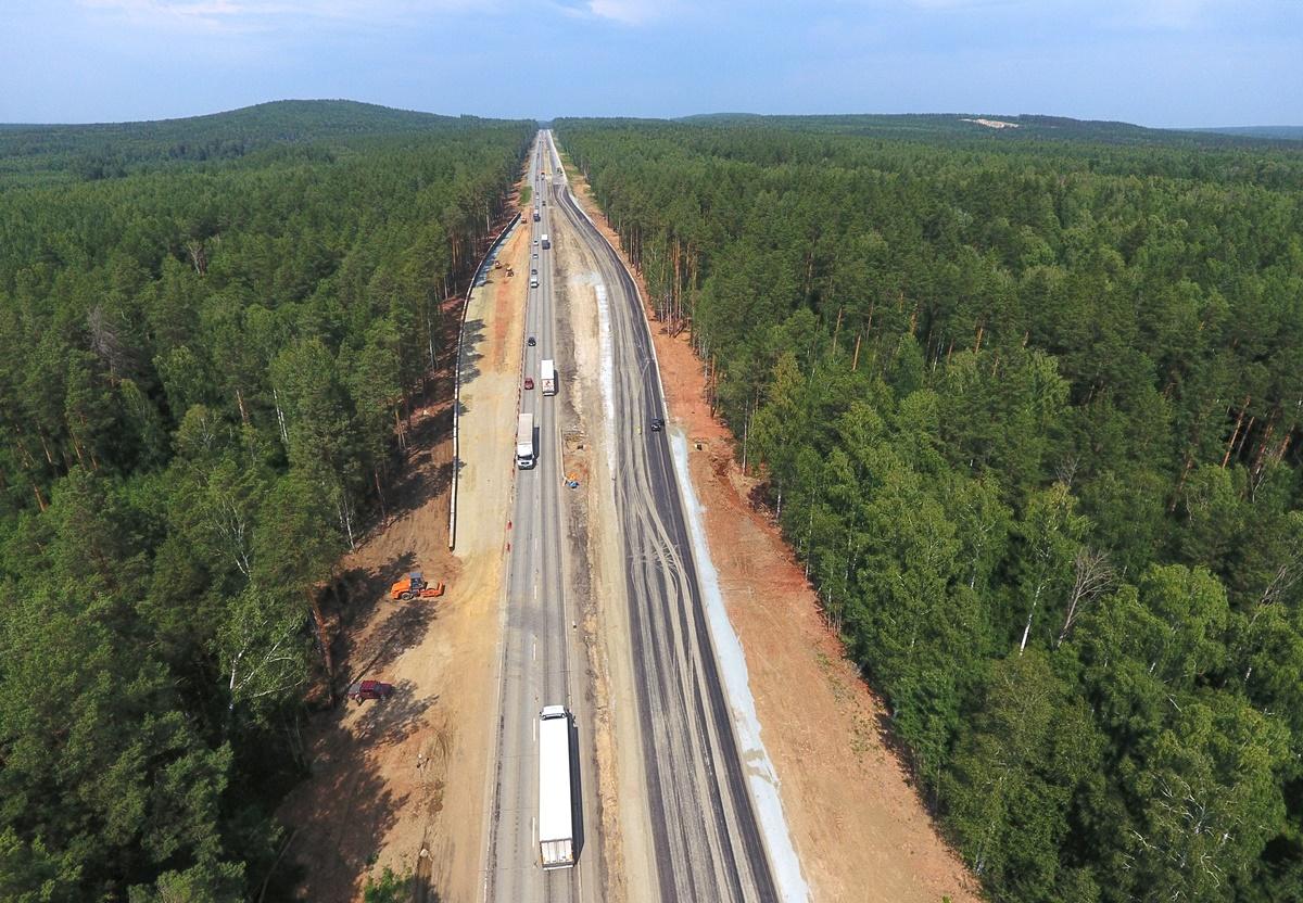 Федеральную трассу М-5 «Урал» на подъезде к Екатеринбургу полностью отремонтируют в 2020 году