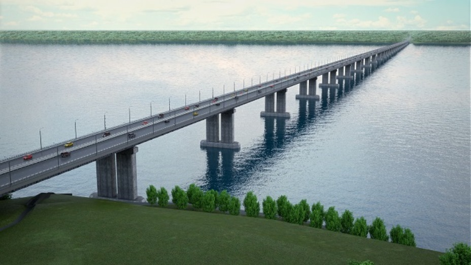 Одобрен проект моста через Волгу на будущем обходе Тольятти