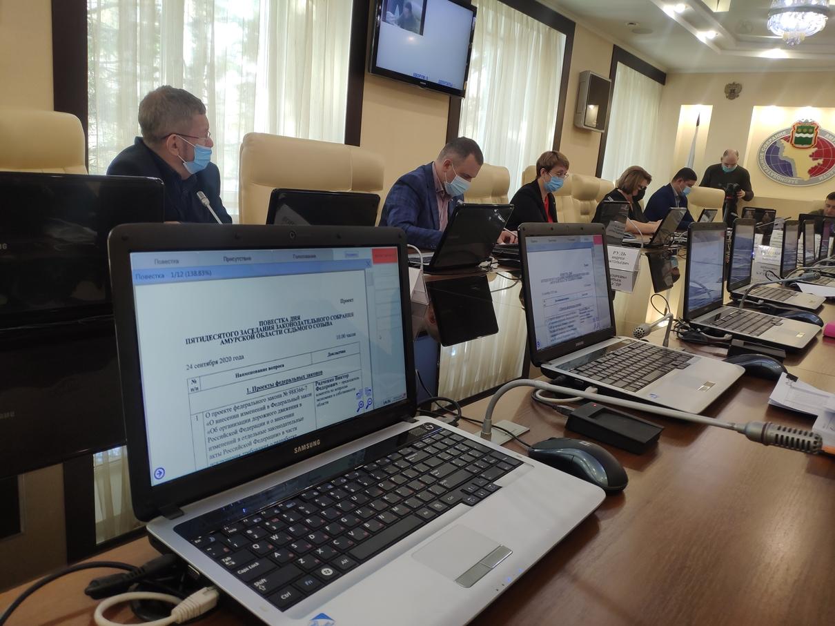 «Коронавирусные» налоговые льготы в Амурской области продлили на 2021 год