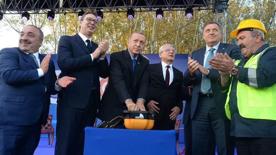 Началось строительство трассы «Белград-Сараево»