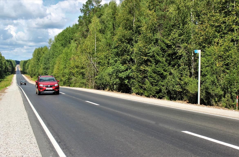 В Удмуртии в 2020 году отремонтировали 400 км дорог