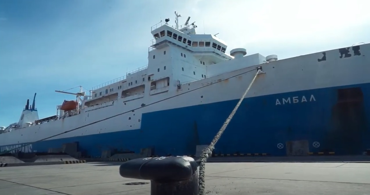 Срок сдачи парома для линии «Усть-Луга – Балтийск» сдвинули на полгода