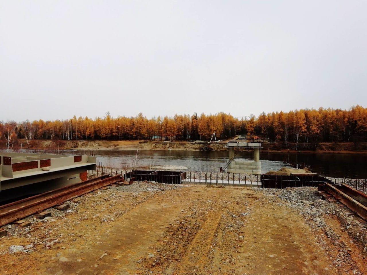 Мост в Тыве для связи Тоджинского района откроют в 2022 году