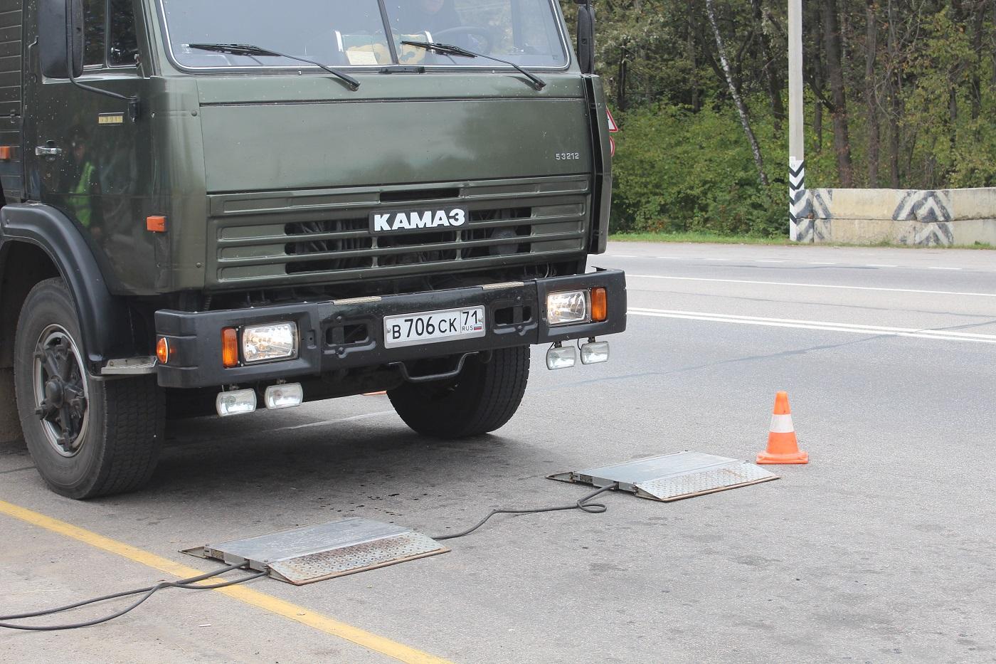 Пункты весового контроля появятся в Северной Осетии после 2021 года