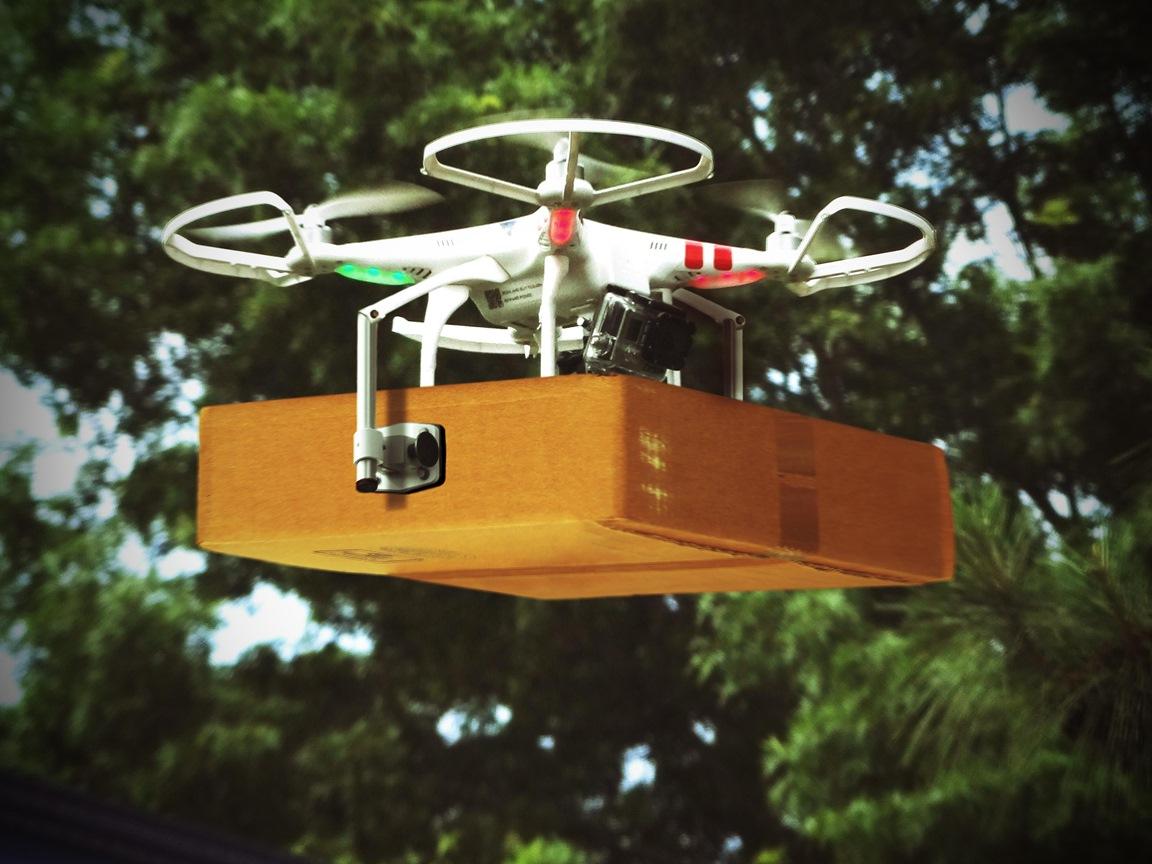 В Китае выдали первую лицензию на дроны экспресс-доставки