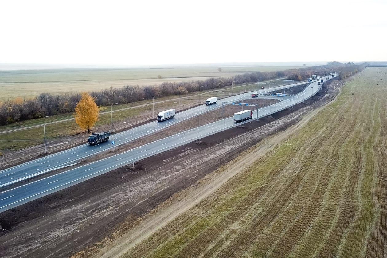 В 2021 году за счет «Платона» отремонтируют 260 км федеральных трасс