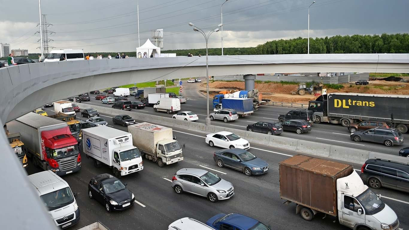 В Юго-Восточном округе Москвы ввели «грузовой каркас»