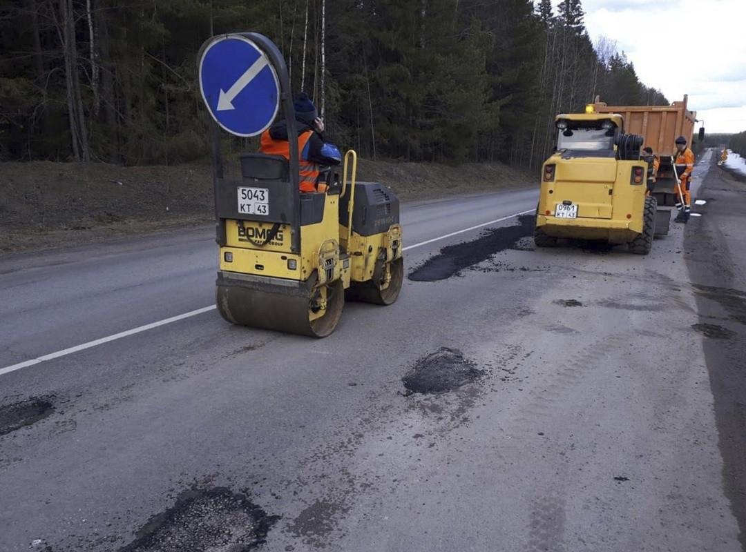 Участок трассы Р-243 «Кострома-Пермь» в Кировской области отремонтируют до 25 июля