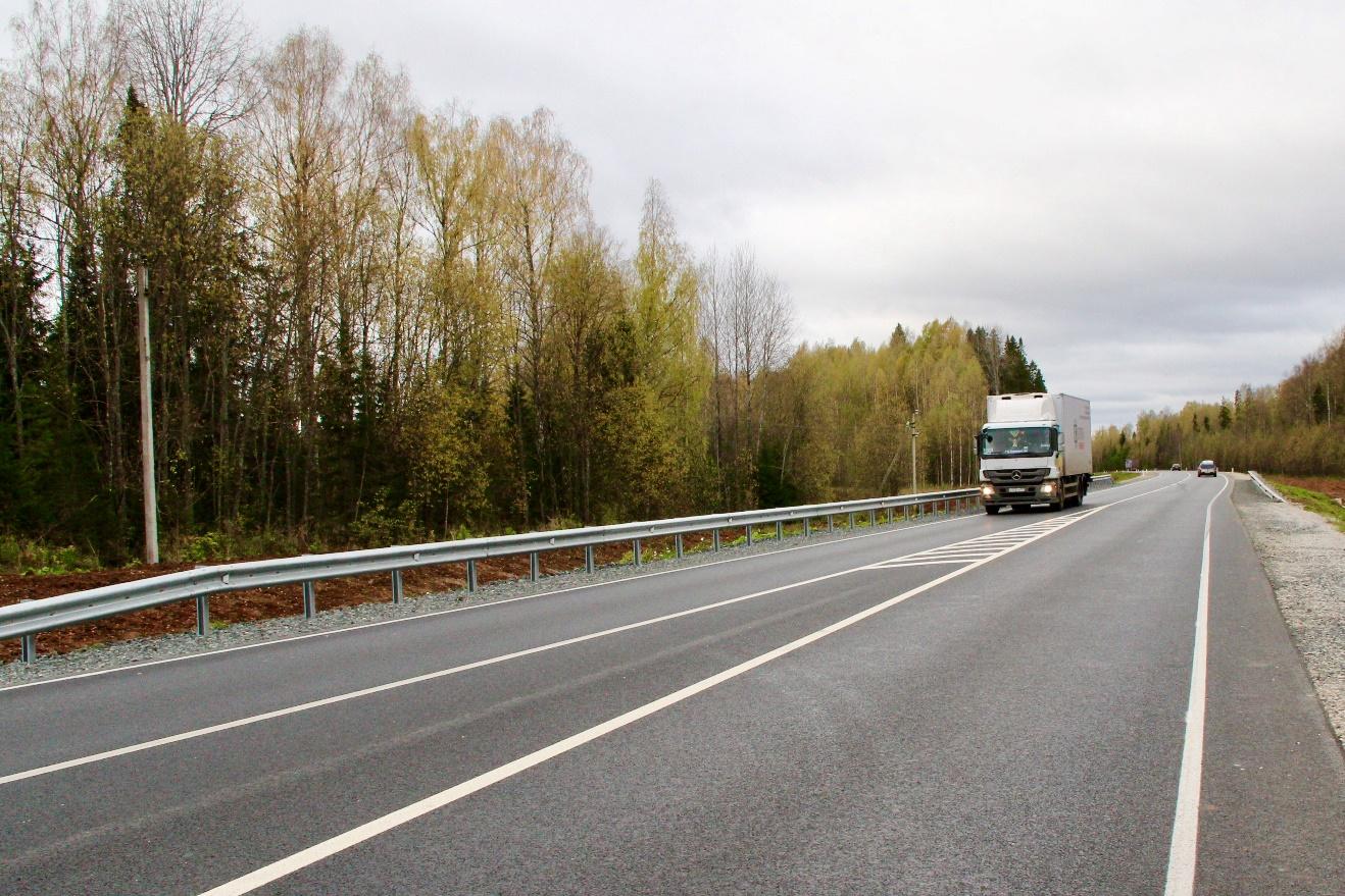 Участок дороги Р-243 в Приморском крае